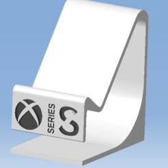1.png Télécharger fichier STL Stand XBOX SERIES S - Support manette XBOX SERIES S • Modèle pour impression 3D, 3DFREPSDESIGN