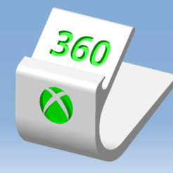 3.png Télécharger fichier STL Stand XBOX 360 - Support manette XBOX 360 • Design imprimable en 3D, 3DFREPSDESIGN