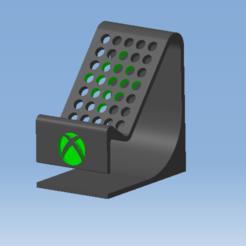 Sans titre.png Télécharger fichier STL Stand XBOX SERIES X - Support manette XBOX SERIES X • Plan imprimable en 3D, DRE-3D-FREPS-DESIGN