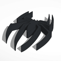 Download free 3D printer files spider man logo, Knigt_Mare