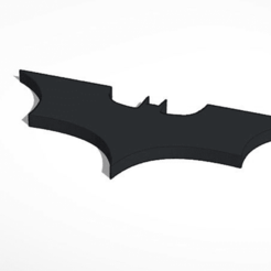 Download free 3D model batman logo, Knigt_Mare