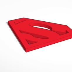Download free 3D print files Superman logo, Knigt_Mare