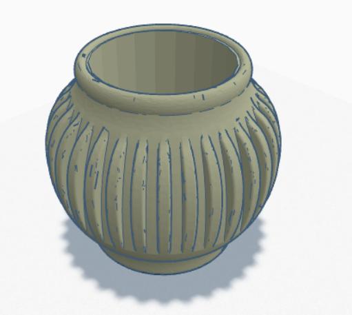 vase.png Télécharger fichier STL gratuit planteur 3d • Modèle imprimable en 3D, nicdure