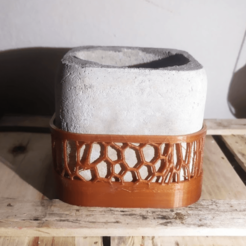 Download 3D print files cube pant molder cementen voronoi optional, nicdure