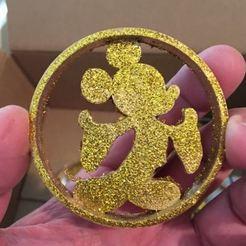 Descargar Modelos 3D para imprimir gratis Adorno de Mickey, Mikem610nospam
