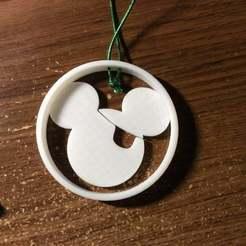 IMG_0637.JPG Télécharger fichier STL gratuit Ornement de Mickey le pirate • Plan pour imprimante 3D, Mikem610nospam