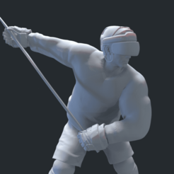 screenshot004.png Download OBJ file HOCKEY PLAYER MODEL • 3D print design, NightCreativity