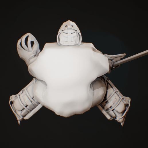 screenshot026.png Télécharger fichier OBJ hockey goalie model no texture • Modèle à imprimer en 3D, NightCreativity