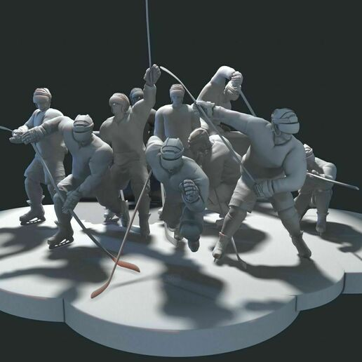 ultimate-hockey-poses-pack-model-no-texture-3d-model-max-obj-fbx-stl-tbscene (2).jpg Download OBJ file ULTIMATE HOCKEY POSES PACK MODEL NO TEXTURE 3D Model Collection • 3D printing template, NightCreativity