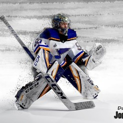 Télécharger fichier impression 3D hockey goalie Jordan Binnington model no texture, NightCreativity