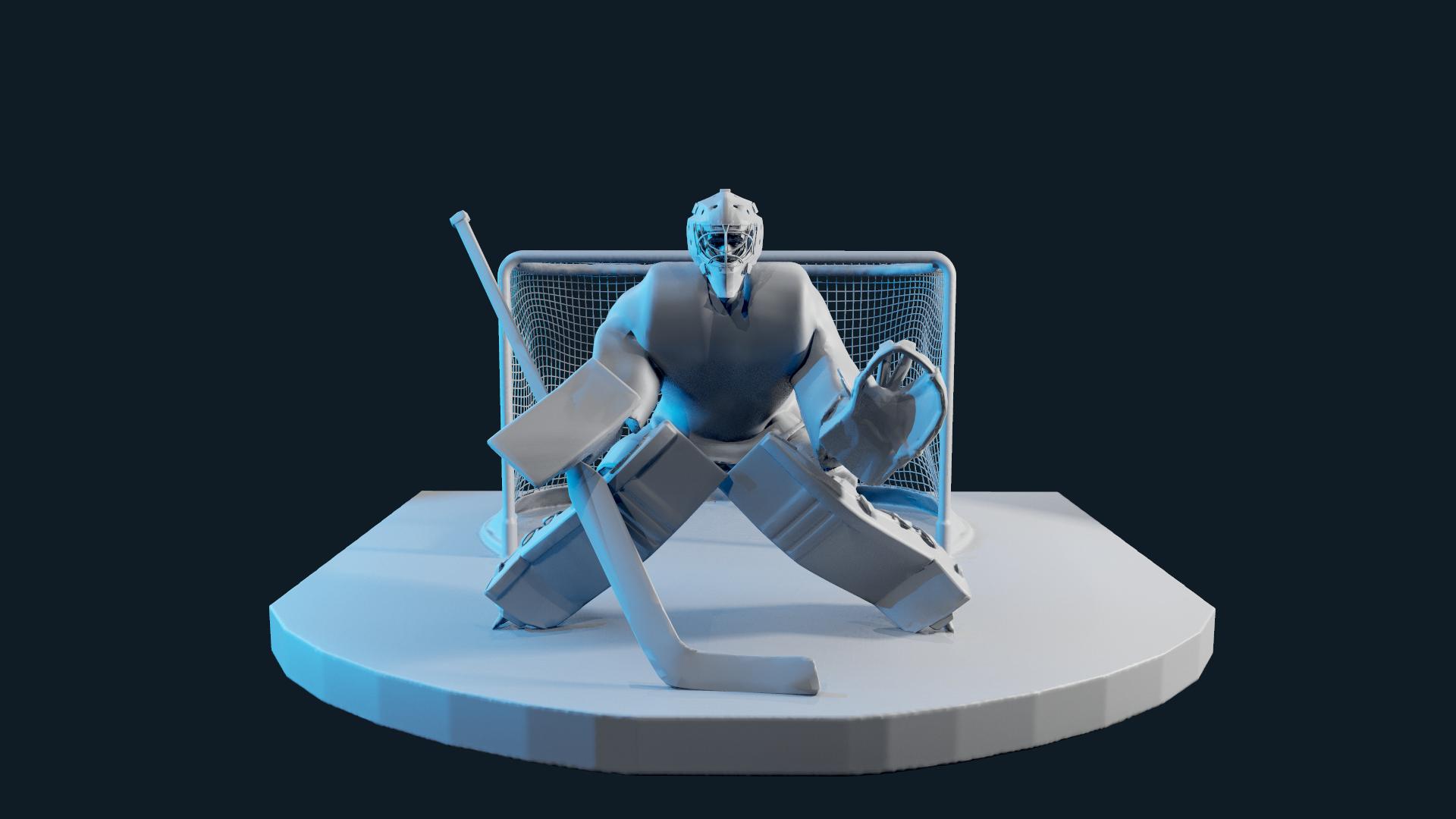 screenshot005.png Télécharger fichier OBJ hockey goalie model no texture • Modèle à imprimer en 3D, NightCreativity