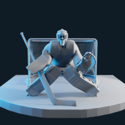 screenshot005.png Download OBJ file hockey goalie model no texture • 3D printer template, NightCreativity