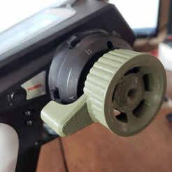 DX5C-Thumb Steer-2.jpg Télécharger fichier STL Roue directrice pour DX5C (Spektrum) • Objet à imprimer en 3D, 10thScaleAdventures