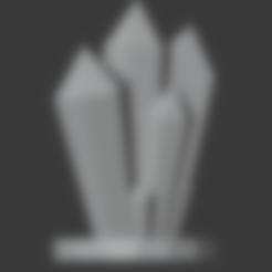 Télécharger fichier STL gratuit Formations cristallines Alt3 • Modèle à imprimer en 3D, LordInvoker