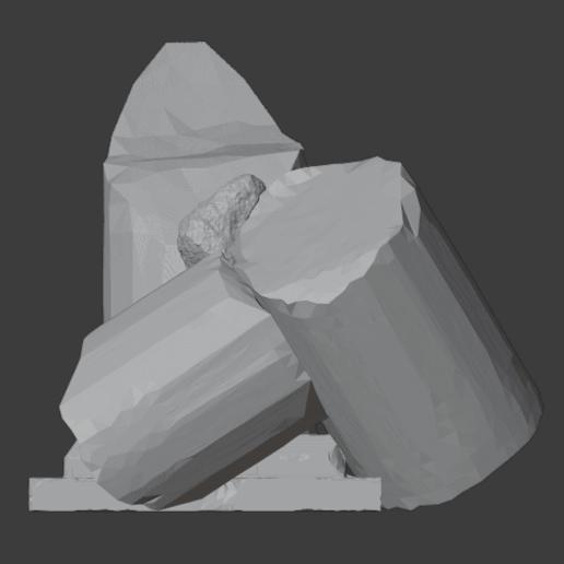 Ruined Pillar-004.png Télécharger fichier STL gratuit Pilier effondré (colonne en ruine) • Plan imprimable en 3D, LordInvoker