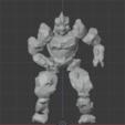 Download free STL file Earth Elemental • 3D printer template, LordInvoker