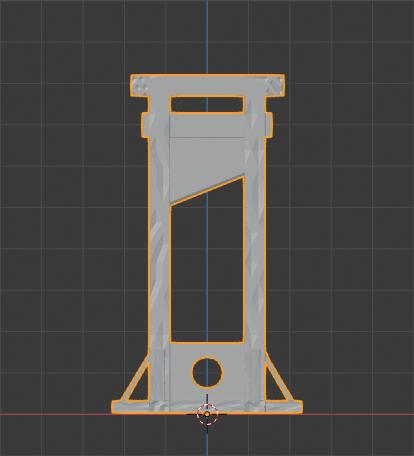 Guillotine-01.png Télécharger fichier STL gratuit Guillotine médiévale • Design imprimable en 3D, LordInvoker