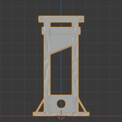 Download free STL Medieval Guillotine, LordInvoker