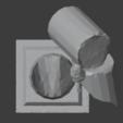 Ruined Pillar-002.png Télécharger fichier STL gratuit Pilier effondré (colonne en ruine) • Plan imprimable en 3D, LordInvoker