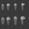 Crystal-04.png Télécharger fichier STL gratuit Paquet de cristal endommagé • Objet à imprimer en 3D, LordInvoker
