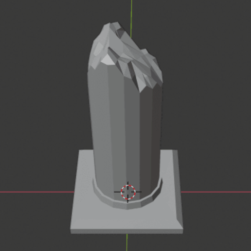 Large-Ruined-Pillar-03.png Download free STL file Large Ruined Stone Pillar  • 3D printing design, LordInvoker