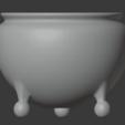 Brazier-03.png Télécharger fichier STL gratuit Brasero (Pieds de balles) • Modèle pour impression 3D, LordInvoker