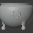 Brazier-04.png Télécharger fichier STL gratuit Brasero (Pieds de balles) • Modèle pour impression 3D, LordInvoker