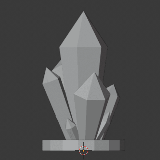 Crystal-Formations-005.png Download free STL file Crystal Formations Alt2 • Object to 3D print, LordInvoker
