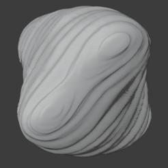 Sandstone-01.png Download free STL file Large Sandstone Rock (05) • 3D printer template, LordInvoker