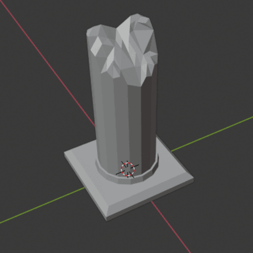 Large-Ruined-Pillar-02.png Download free STL file Large Ruined Stone Pillar  • 3D printing design, LordInvoker