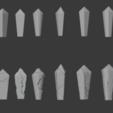 Crystal-02.png Télécharger fichier STL gratuit Paquet de cristal endommagé • Objet à imprimer en 3D, LordInvoker