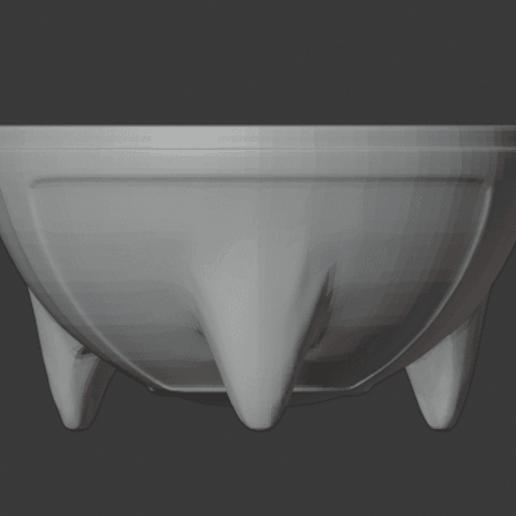 Télécharger fichier STL gratuit Brasero (vide) • Design à imprimer en 3D, LordInvoker