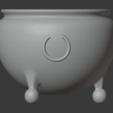 Brazier-05.png Télécharger fichier STL gratuit Brasero (Pieds de balles) • Modèle pour impression 3D, LordInvoker