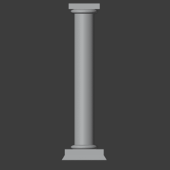 SimpleColumn-01.png Download free STL file Simple Palace Column • 3D printer design, LordInvoker