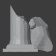 Ruined Pillar-006.png Download free STL file Collapsed Pillar ( Ruined Column ) • Design to 3D print, LordInvoker