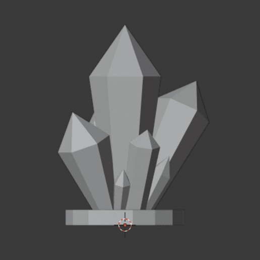 Crystal-Formations-003.png Download free STL file Crystal Formations Alt2 • Object to 3D print, LordInvoker