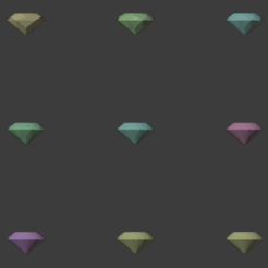 Jewel-Stones-01.png Download free STL file Gemstones (Jewels) • 3D print model, LordInvoker
