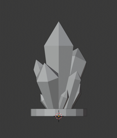Crystal-Formations-004.png Download free STL file Crystal Formations Alt2 • Object to 3D print, LordInvoker