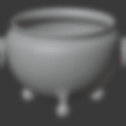 Brazier-00.stl Télécharger fichier STL gratuit Brasero (Pieds de balles) • Modèle pour impression 3D, LordInvoker