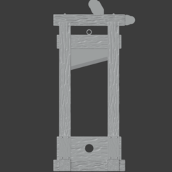 Guillotine-001.png Download free STL file Medieval Guillotine (Updated Version) • Design to 3D print, LordInvoker