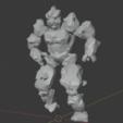 EarthElemental-02.png Télécharger fichier STL gratuit Terre élémentaire • Plan à imprimer en 3D, LordInvoker