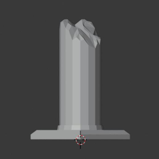 Large-Ruined-Pillar-05.png Download free STL file Large Ruined Stone Pillar  • 3D printing design, LordInvoker