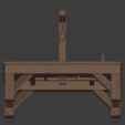 Gallows-007.png Download free STL file The Gallows • 3D print template, LordInvoker