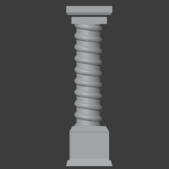 Pillars-001.png Download free STL file Fantasy Style Column/Pillar (28mm Scale) • 3D printing object, LordInvoker