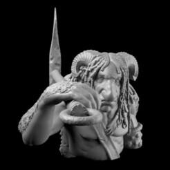 Fauno_4.jpg Download STL file Fauno • 3D print design, diegorossetti4