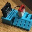 Download free STL file Ender 3 card holder • Design to 3D print, dewaldcon