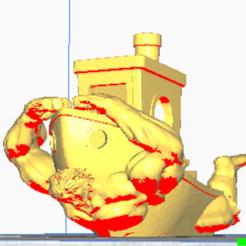 Download STL file Hulk Benchy • 3D printing object, dewaldcon