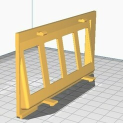 171867256 2.jpg Download STL file Vw Golf Mk1 Ref. 171867256 • Model to 3D print, davidld1990