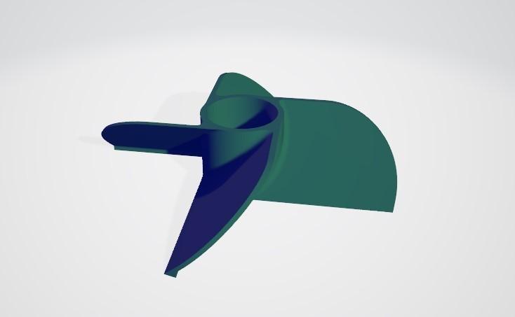 4.jpg Télécharger fichier STL gratuit Hélice marine à 4 volets • Modèle pour imprimante 3D, ErkanErk