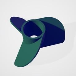 3.jpg Download free STL file 3 flaps marine propeller • 3D printable object, ErkanErk